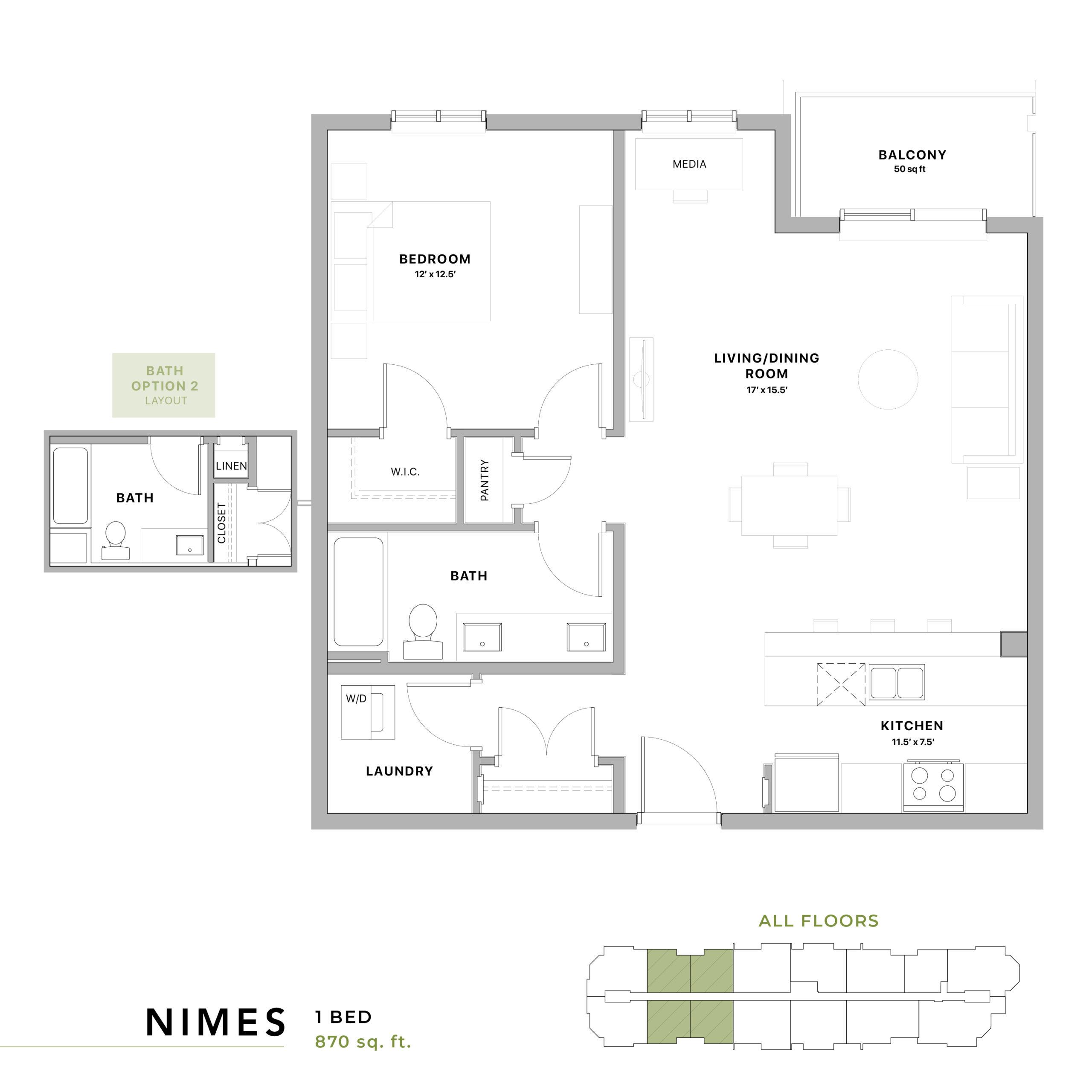 Nimes Floorplan