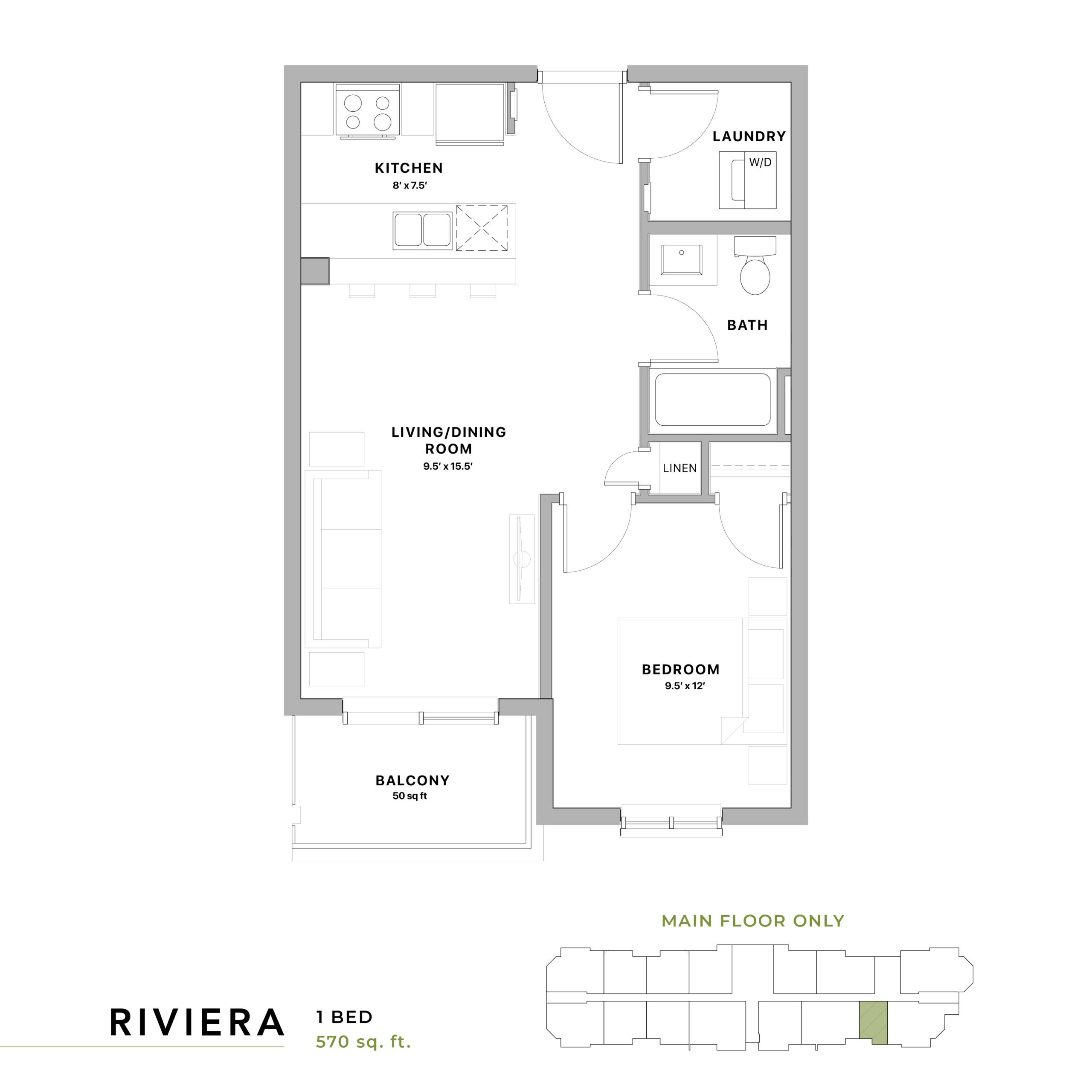 Riviera Floorplan