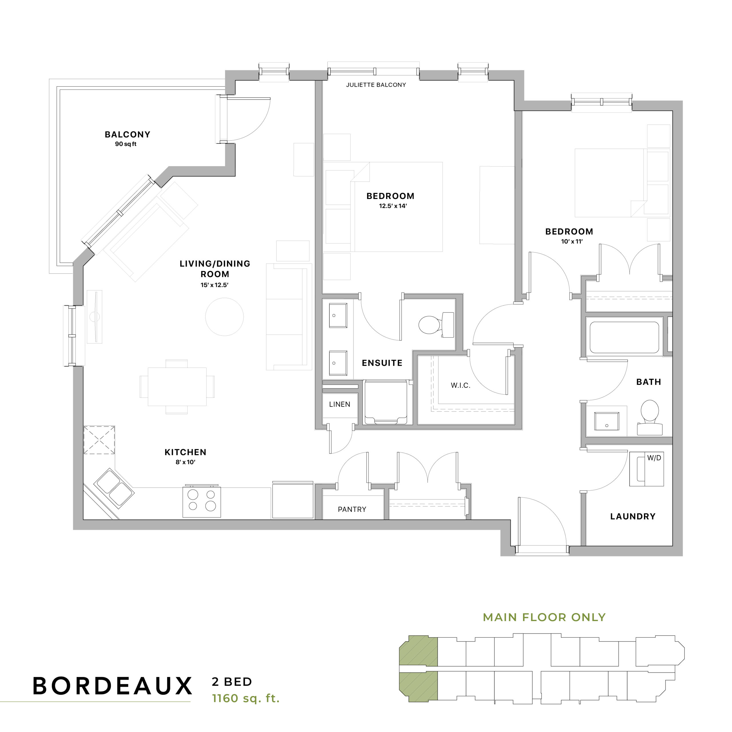 Bordeaux Floorplan