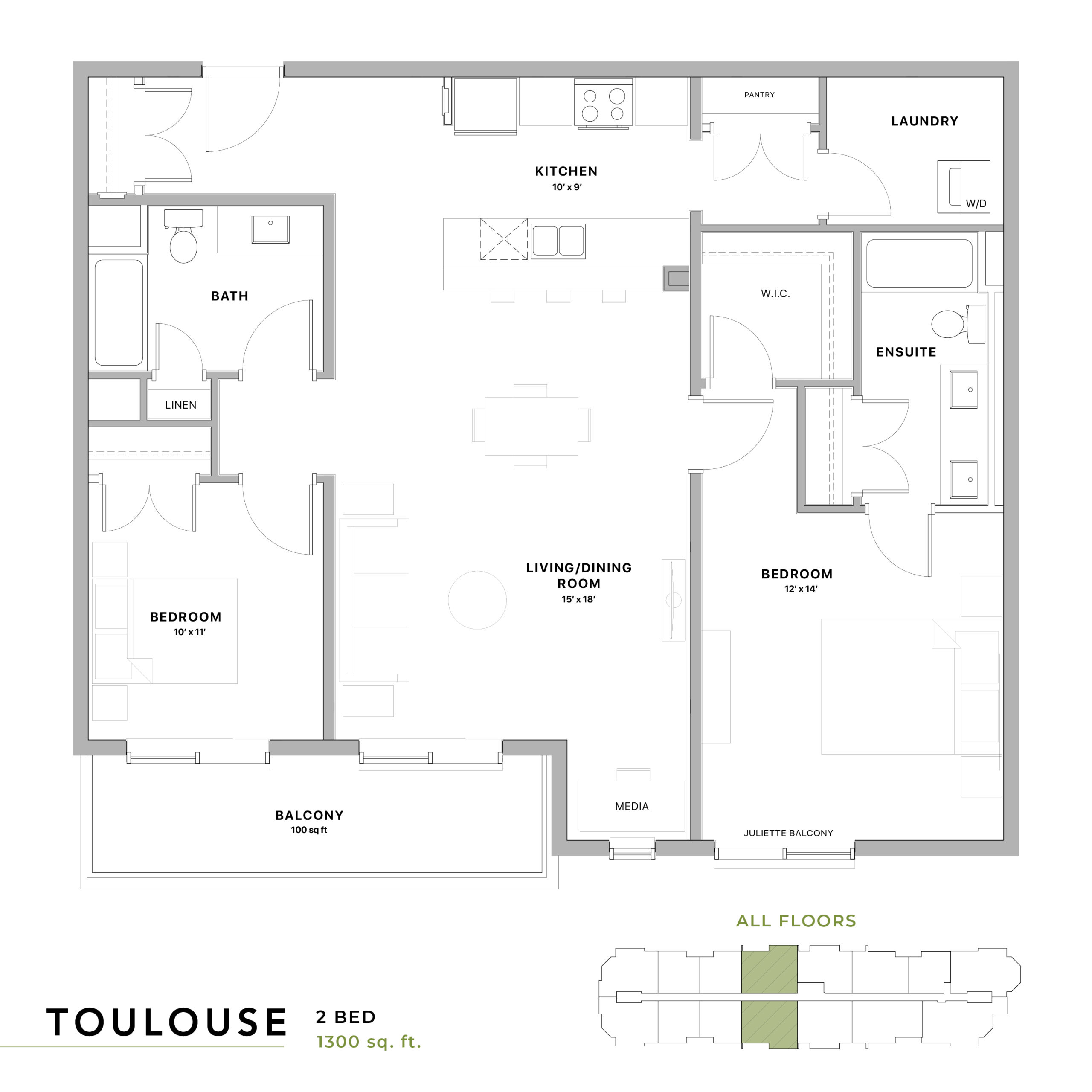 Toulouse Floorplan