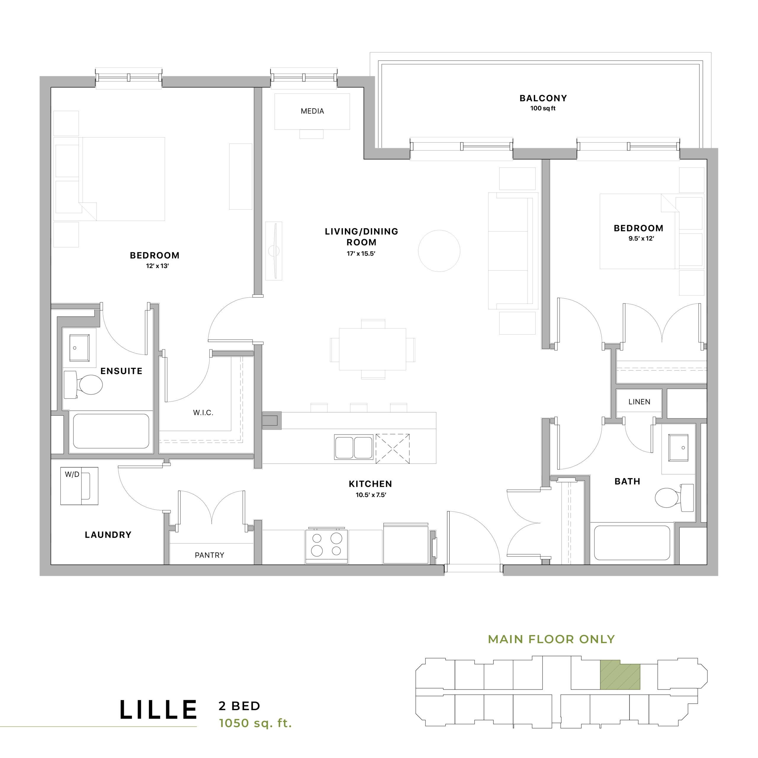 Lille Floorplan