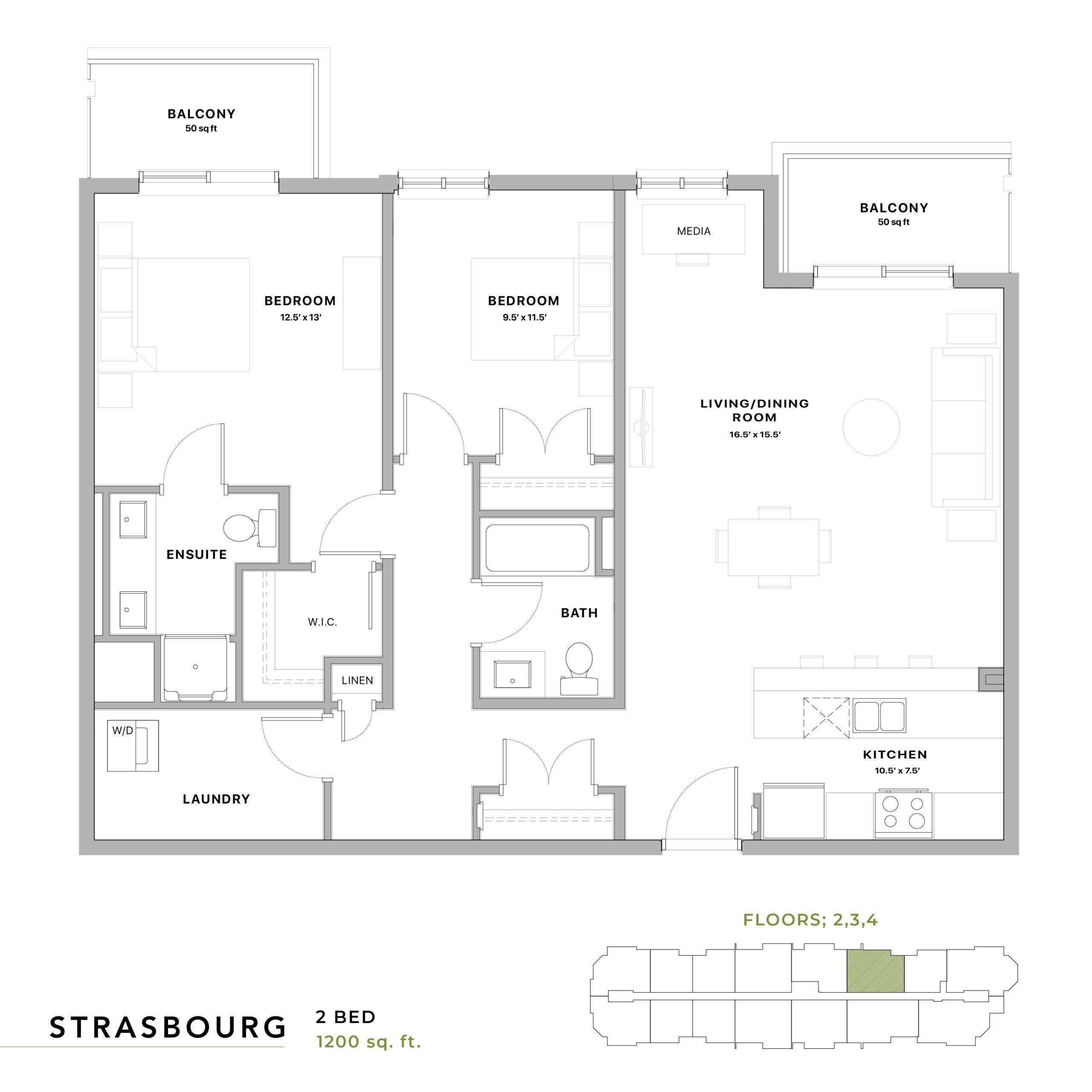 Strasbourg Floorplan
