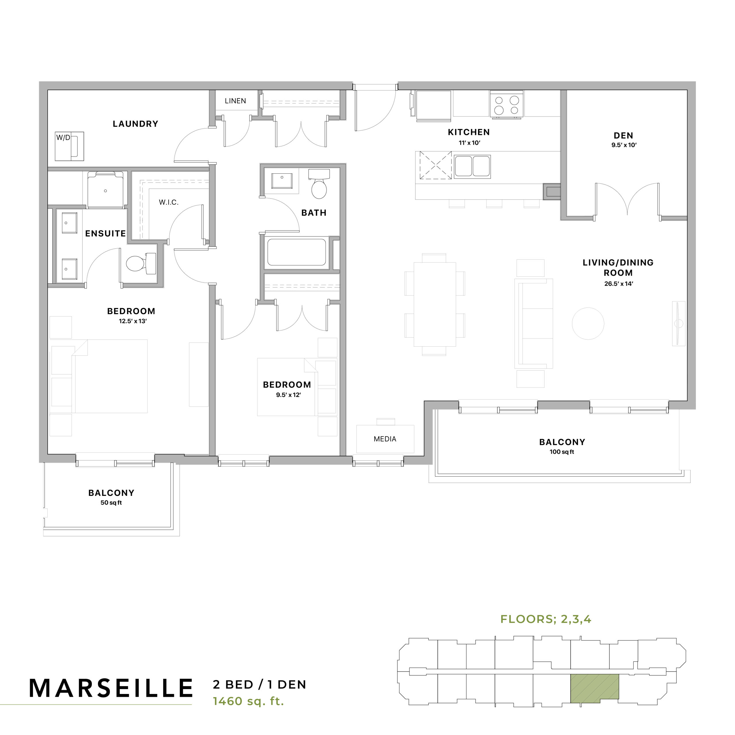 Marseille Floorplan