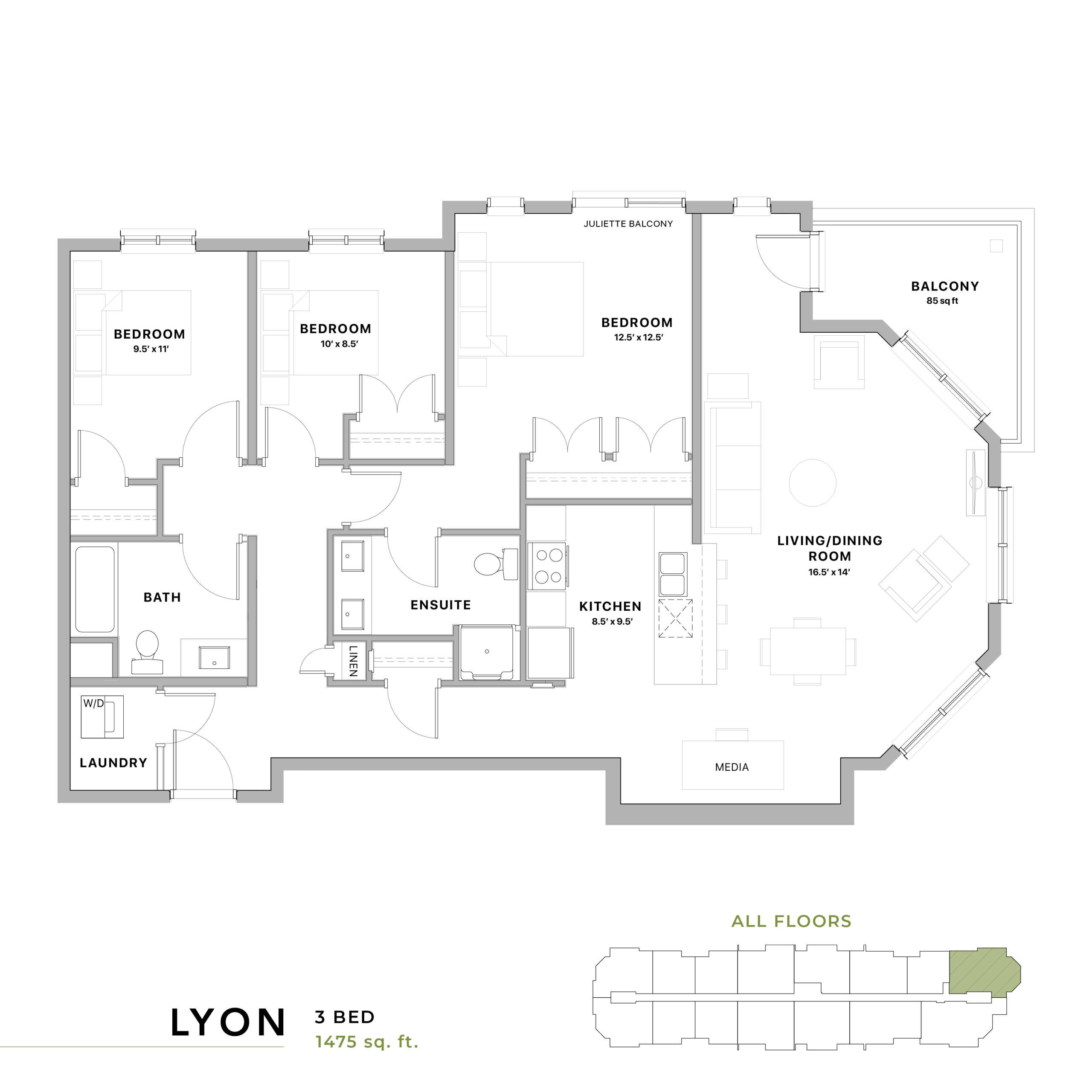 Lyon Floorplan
